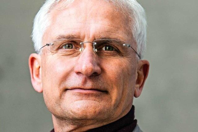 Gerhard Zickenheiner von den Grünen stellt sich dem BZ-Fragenwirbel
