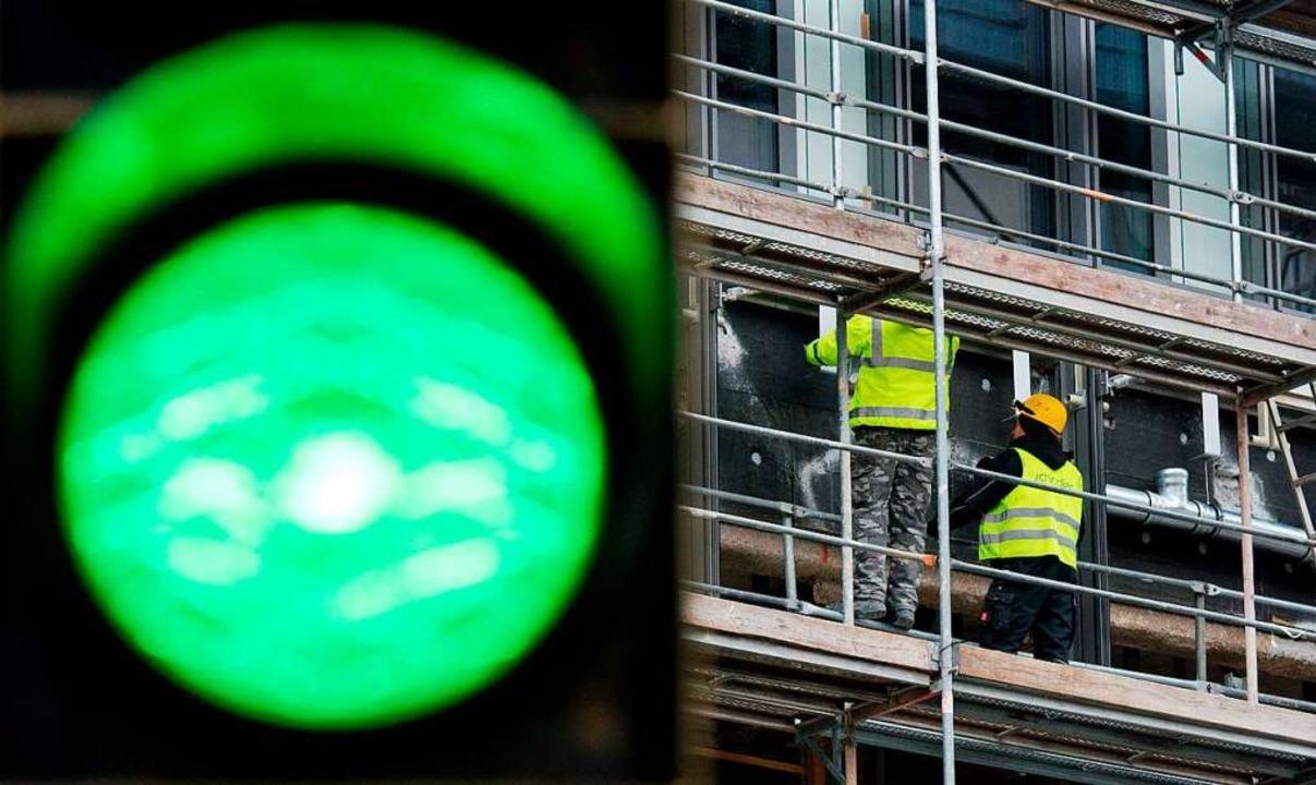 Die  Belebung  auf dem Arbeitsmarkt der Nordwestschweiz hält an (Symbolfoto).    Foto: Julian Stratenschulte