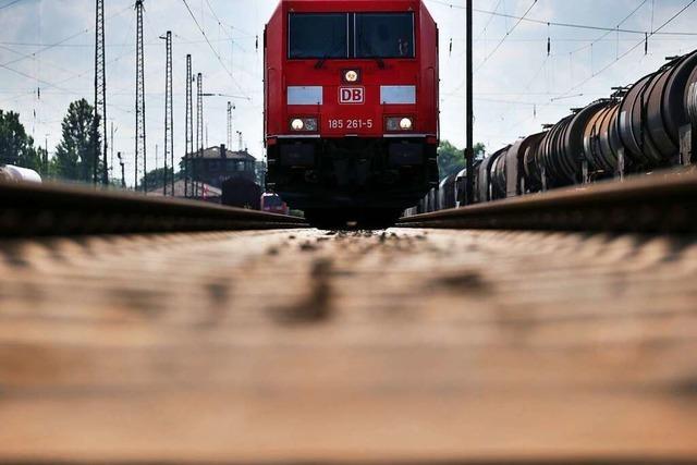 Bahn baut bald Lärmschutzwände in Friesenheim