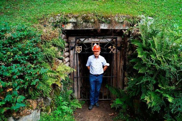 Seit 35 Jahren befreit der Verein Silberbergwerk Suggentäler Stollen vom Dreck