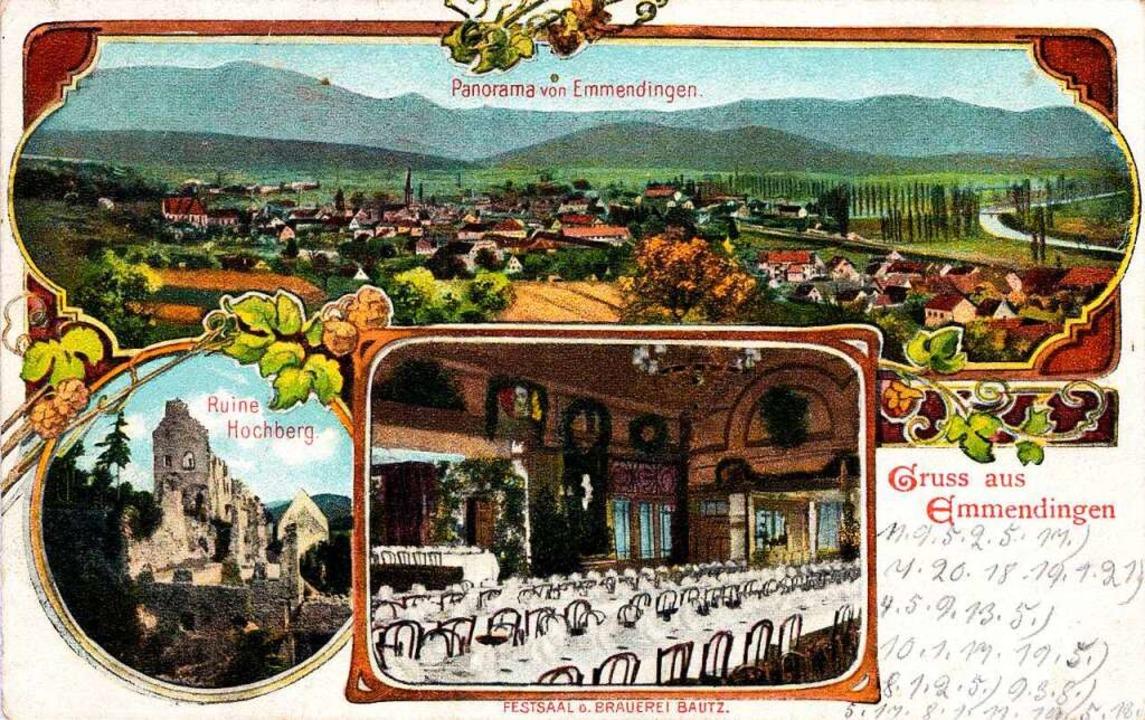 Werbung für Gasthäuser wie den legendä... machten aufwendig geschmückte Karten.    Foto: Johannes Dilger