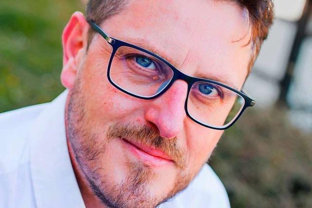 Tino Josef Ritter von der FDP stellt sich dem BZ-Fragenwirbel