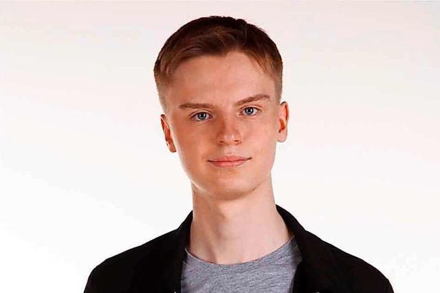 Simon Bärmann von der Partei Die Linke stellt sich dem BZ-Fragenwirbel