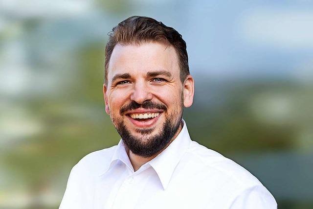 Martin Gassner-Herz von der FDP stellt sich dem BZ-Fragenwirbel