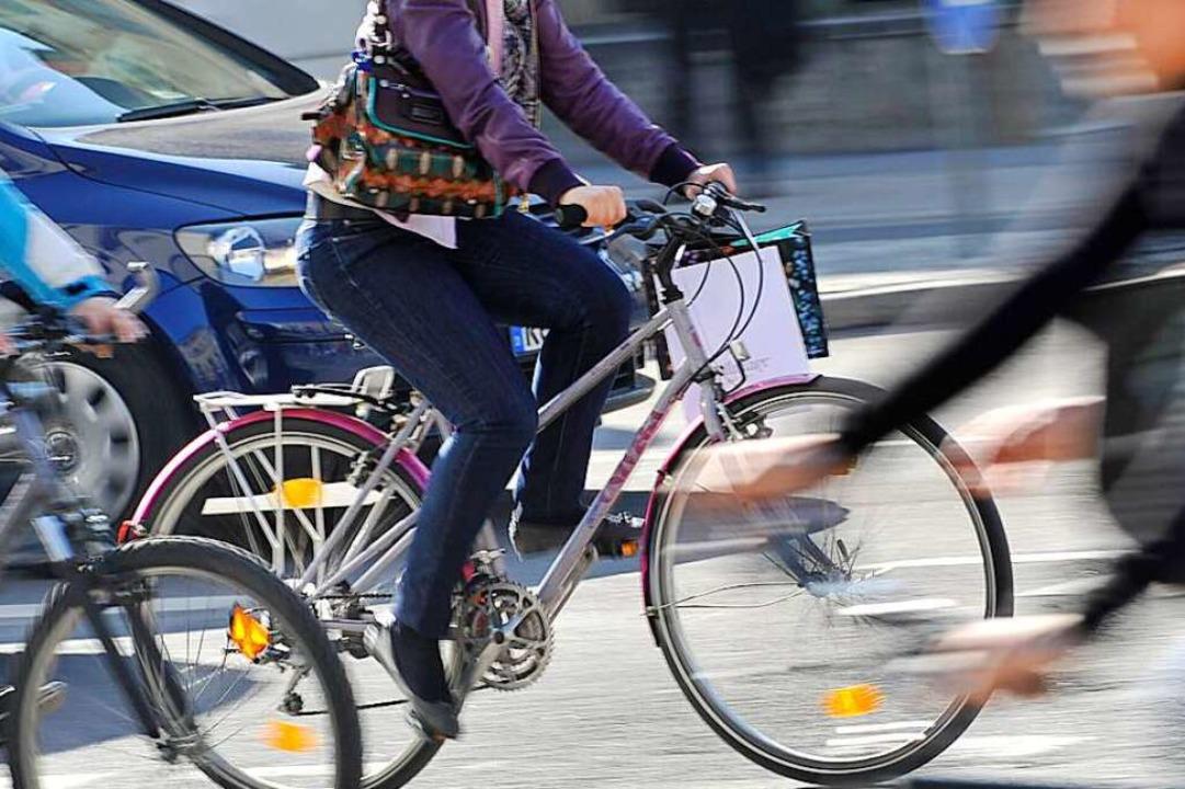Das Thema Mobilität ist eines von zahlreichen beim Klimafest in Schallstadt.  | Foto: Frank Leonhardt
