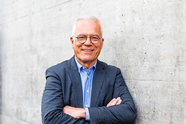 Thomas Zawalski (Grüne) will's wissen und tritt gegen Wolfgang Schäuble an