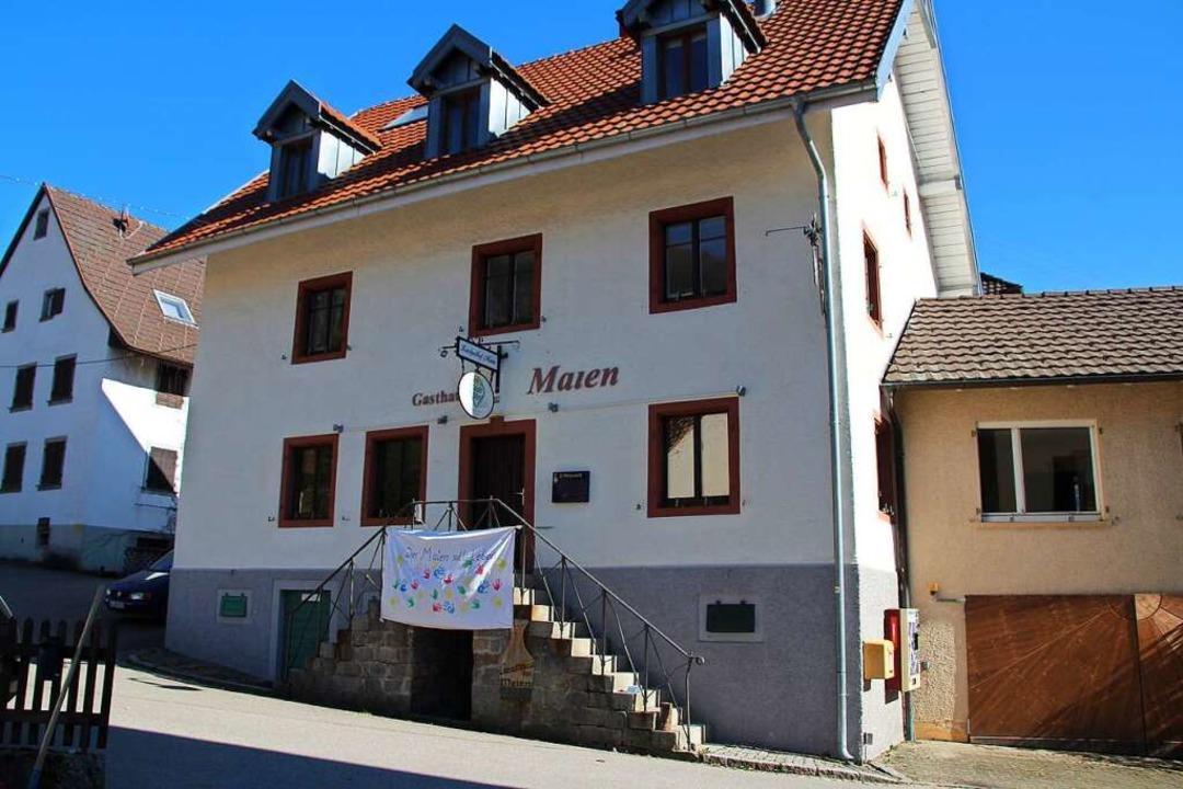 """Der """"Maien"""" in Malsburg-Marzell    Foto: Reinhard Cremer"""