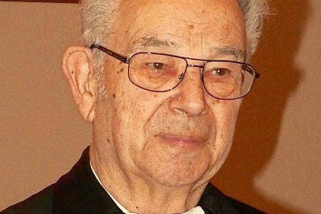Steinen nimmt Abschied von Pfarrer Klaus Steyer