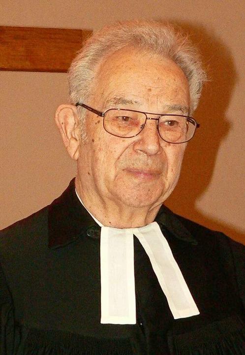 Klaus Steyer (Archivbild von 2013)  | Foto: Georg Diehl