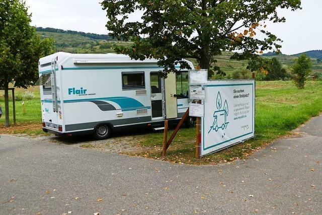 Neue Regeln für Wohnmobile in Vogtsburg