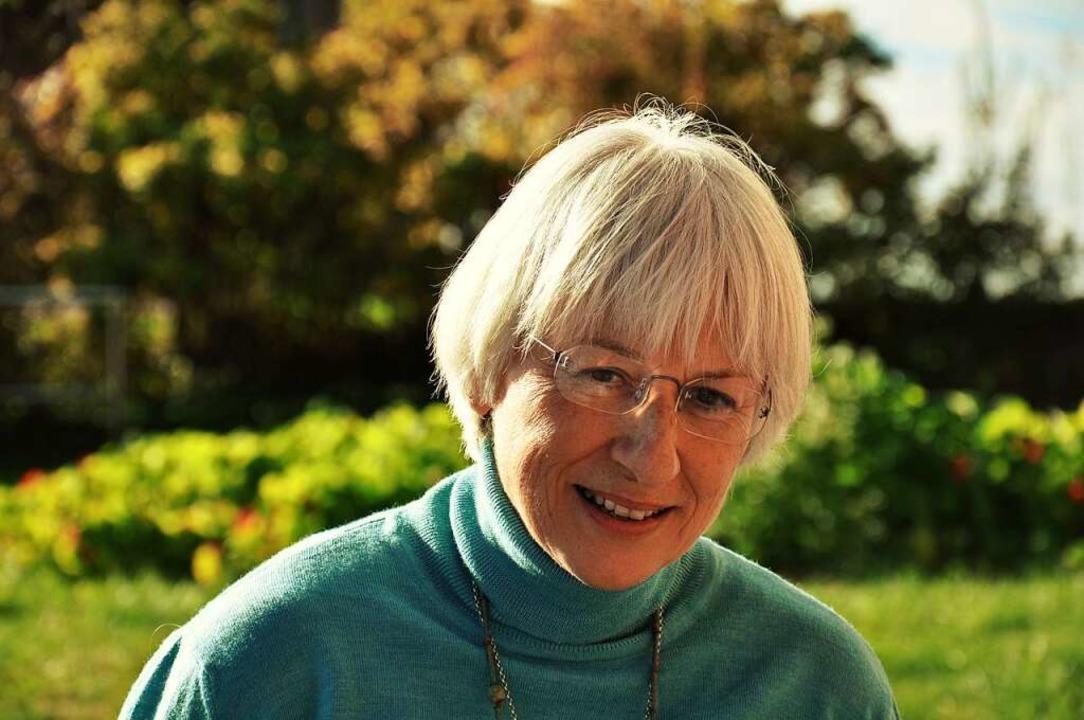 Claudia Scherer freie Schriftstellerin und Künstlerin.    Foto: Manfred Kern