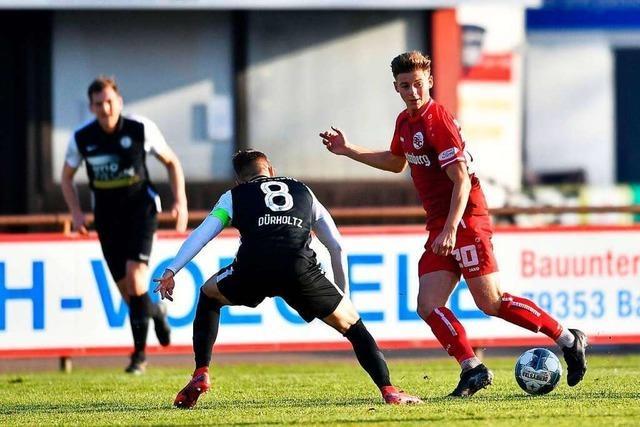 Der Bahlinger SC will dem TSV Steinbach was zu beißen geben
