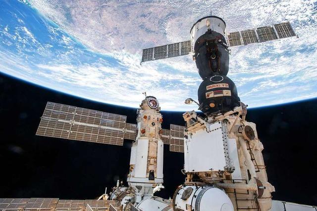 Alarm auf der ISS: Rauch löst Warnmelder aus