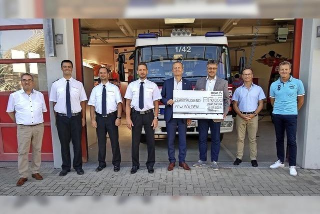 10 000 Euro für Söldener Feuerwehr