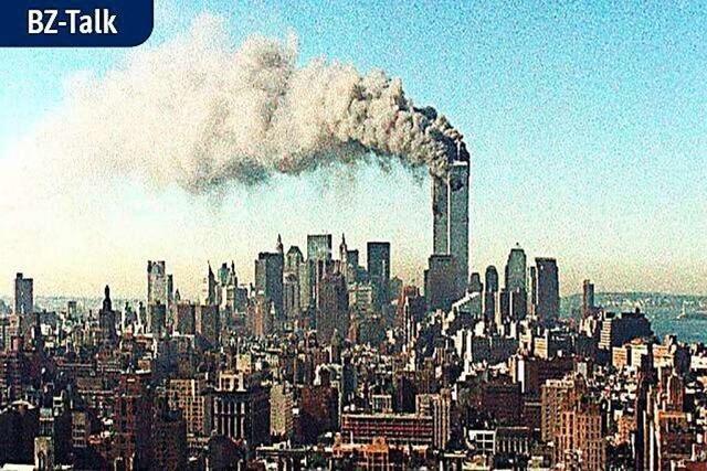 BZ-Talk: Wie zwei Löffinger den 11. September in der Luft erlebten
