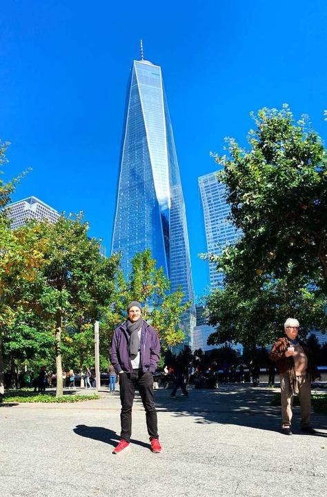 Einen Tag vor den Terroranschlägen bes...ertiggestellte One World Trade Center.  | Foto: privat