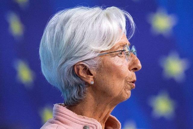 EZB tritt nur leicht auf die Bremse