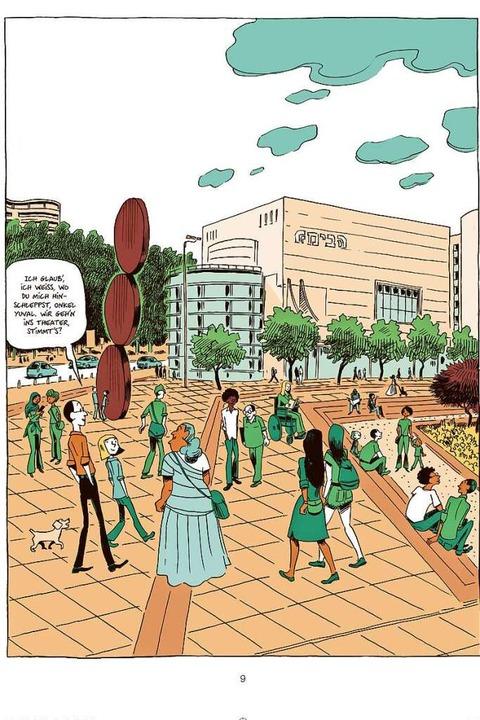 """""""Sapiens – Die Falle&#8220... Graphic Novel   erscheint im Oktober.    Foto: Verlag"""
