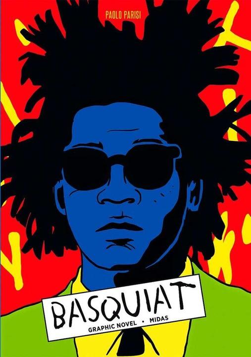 Das Cover von Paolo Parisis Comic über Jean-Michel Basquiat.  | Foto: Verlag