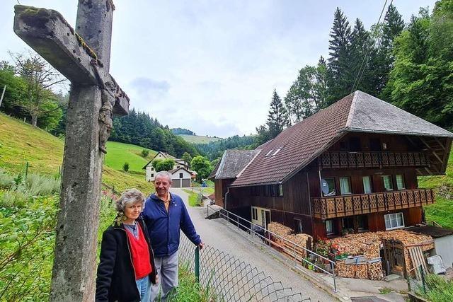 400 Jahre alt ist der Schwarzwaldhof von Familie Kiefer in Wildböllen