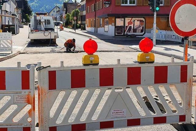 Ab Montag wird die B 3 von Kippenheim bis Altdorf gesperrt