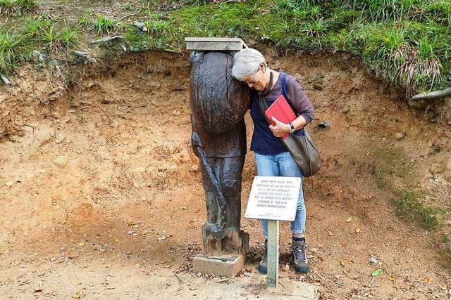 Die Waldkircher Ritterfiguren sind reparaturbedürftig