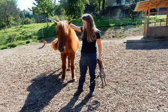 Als Tierosteopathin lindert sie den Schmerz von Pferden und Hunden