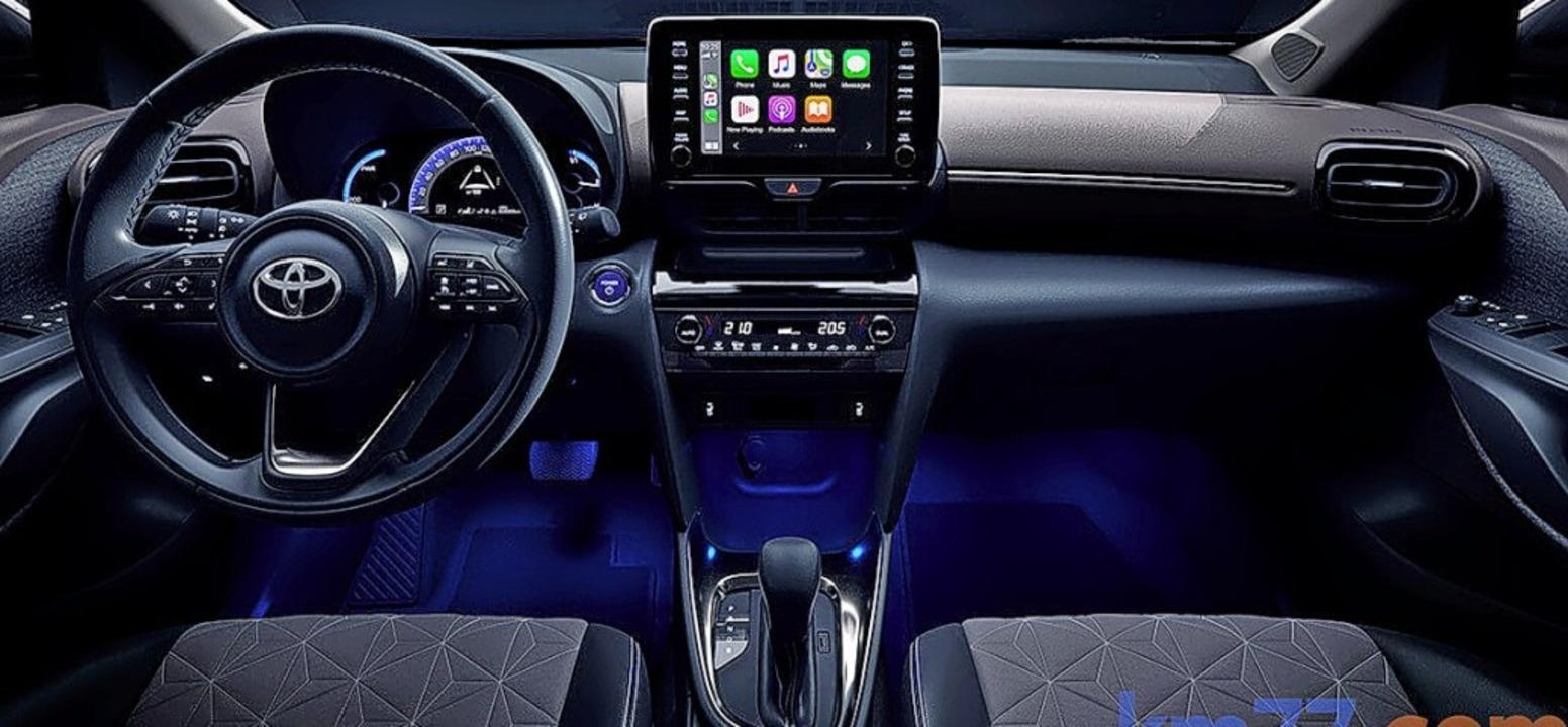 Das Interieur ziert ein großer Touchscreen.  | Foto: Toyota