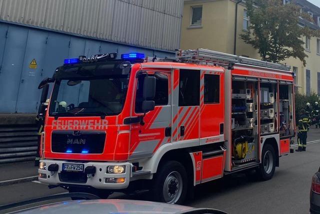 Vier leichte Fälle von Rauchgasvergiftung bei Schwelbrand in Wäscherei der Uniklinik