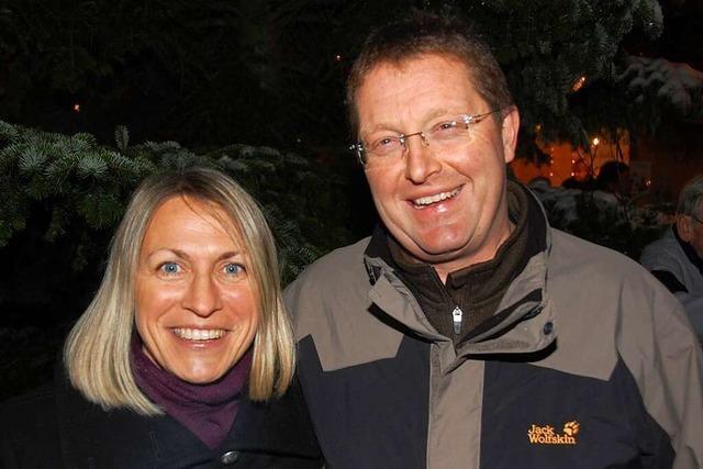 Petra und Jürgen Gempp geben die Organisation des Altweiler Weihnachtsmarkts ab
