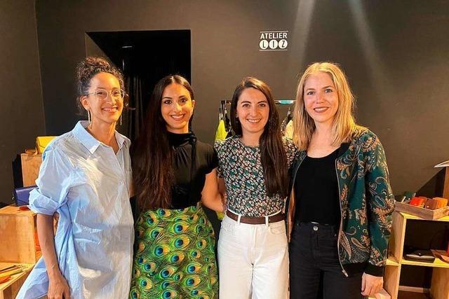 Den Pop-up-Store in der Schusterstraße haben vier Designerinnen bezogen