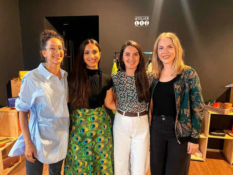 Lina Saleem, Vanessa Carrubba, Magdale...Pop-up-Store in der Schustertraße aus.  | Foto: Privat