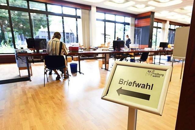 Freiburg knackt den Briefwahl-Rekord bereits 16 Tage vor der Wahl