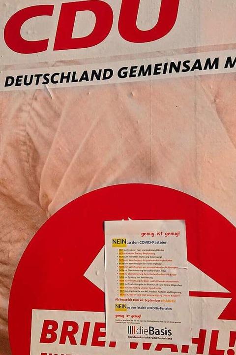 Sachbeschädigungen mit politischen Hin...d rufen den Staatsschutz auf den Plan.    Foto: Matthias Schmidt
