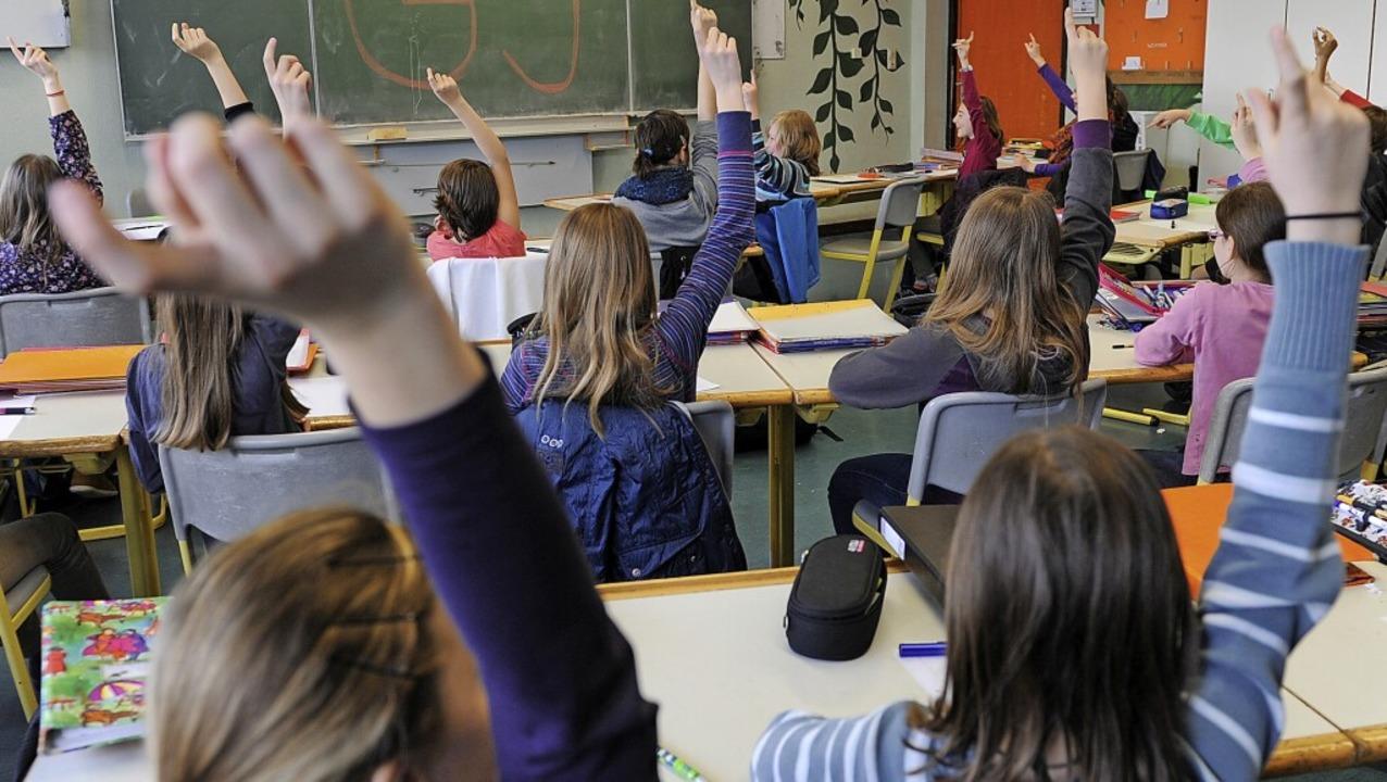 Statt vor dem Bildschirm sollen die Sc...ren Klassenräumen unterrichtet werden.    Foto: Franziska Kraufmann