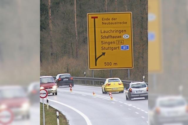Der Verkehr rollt ab 24. November