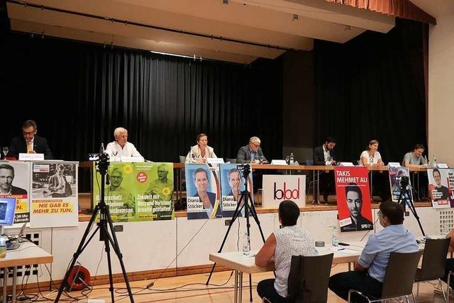 Wie war's bei der Podiumsrunde der Wahlkreiskandidaten in Ballrechten-Dottingen?