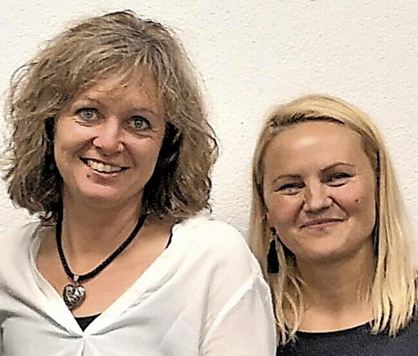 Manuela Wehrle (links) und Dorota Rombach sind neu im Vorstandsteam.  | Foto: Verein
