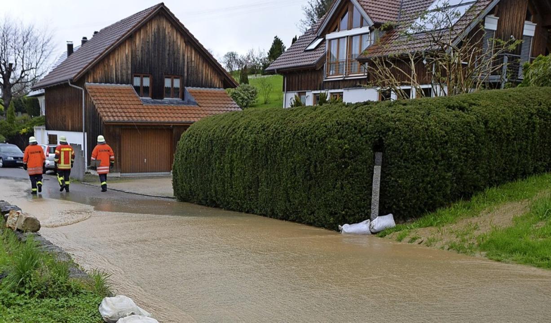 2016 war Welmlingen von Hochwasser betroffen.   | Foto: Victoria Langelott