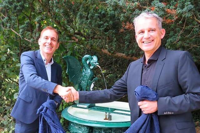 Lörrach bekommt einen Basler Basilisken-Brunnen