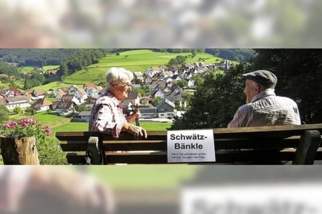 Ein Schwätzle in Schweighausen
