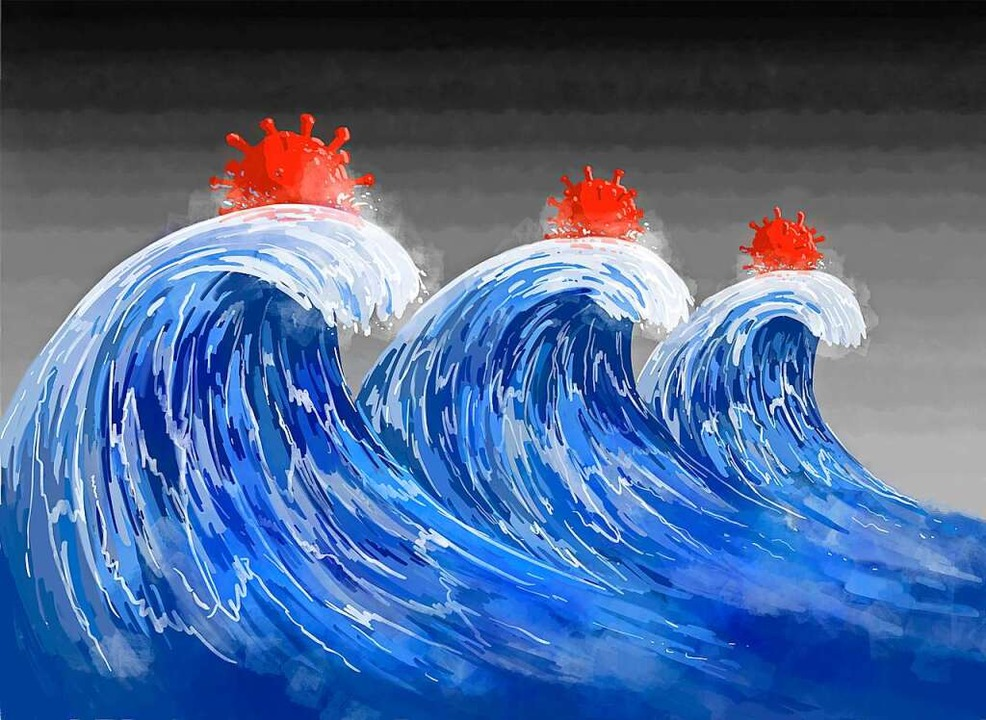 Nach drei Corona-Wellen läuft nun die vierte.  | Foto: GGGraphics  (stock.adobe.com)