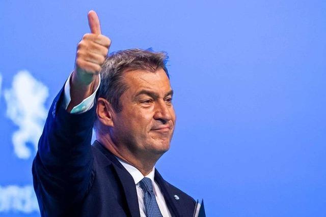Söder hält sich immer noch für den besseren Kanzlerkandidaten