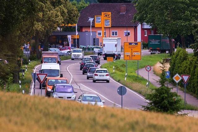 Freie Fahrt für Radler trotz der Baustelle zwischen Kippenheim und Altdorf