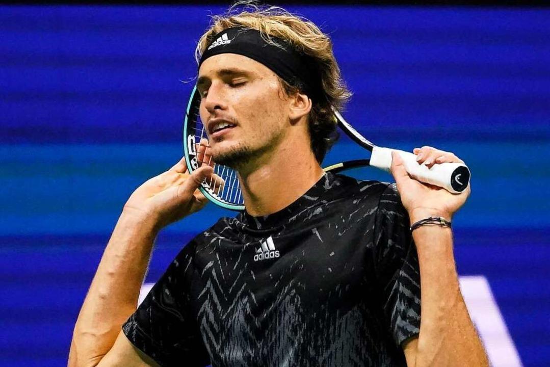 Am Ende reicht es bei Alexander Zverev nicht fürs Finale.  | Foto: Elise Amendola (dpa)