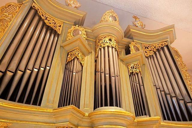 In Feuerbach ist man stolz auf die prunkvolle Kirchenorgel