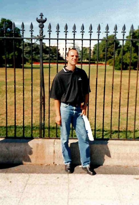 2001 war Vogler in Washington  | Foto: privat