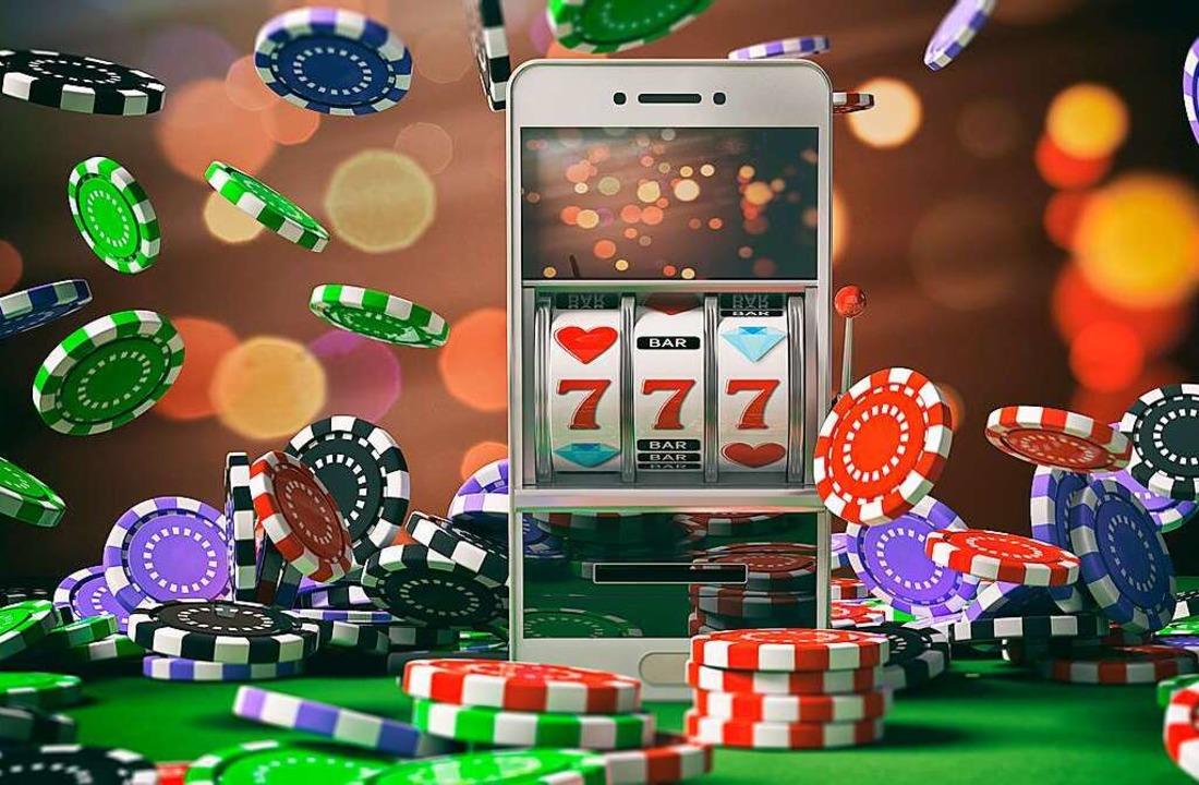 Den einarmigen Banditen braucht es nic... Smartphone jede Menge Geld verzocken.  | Foto: Rawf8  (stock.adobe.com)