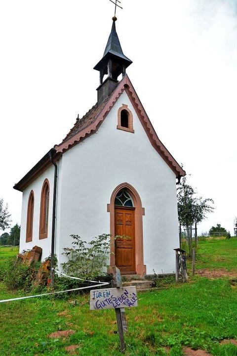 Auch eine kleine Kapelle findet sich auf dem Gelände.  | Foto: Kathrin Blum
