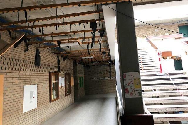 Was in den Rheinfelder Schulen während der Ferien gebaut wurde